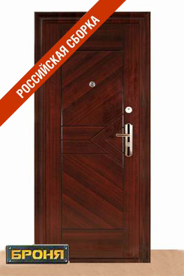 железная дверь фирма броня