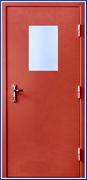 Дверь противопожарная ТОУН EI-60 однопольная с остеклением (ДМПО-1)