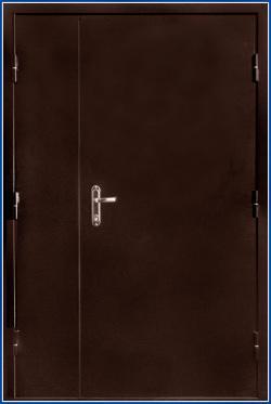 Дверь противопожарная ТОУН EI-60 двупольная (ДМП-2)