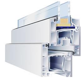 Система ПВХ профилей GEALAN S 3000 для изготовления окон.