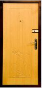 Дверь металлическая двухлистовая