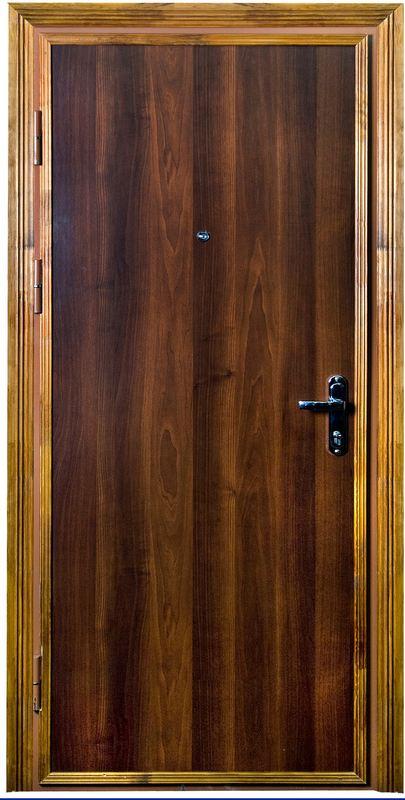 Дверь металлическая однолистовая