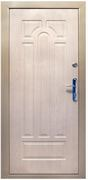 Дверь металлическая двухлистовая с открыванием вовнутрь