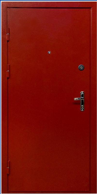 Дверь металлическая двухлистовая с усиленным притвором